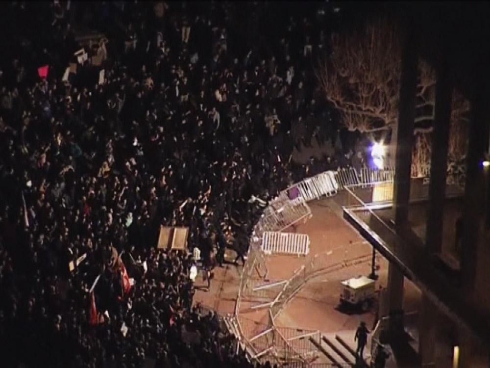 柏克萊暴動