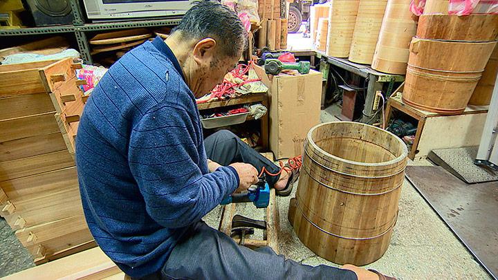 百年歷史 祖傳技藝手作蒸籠
