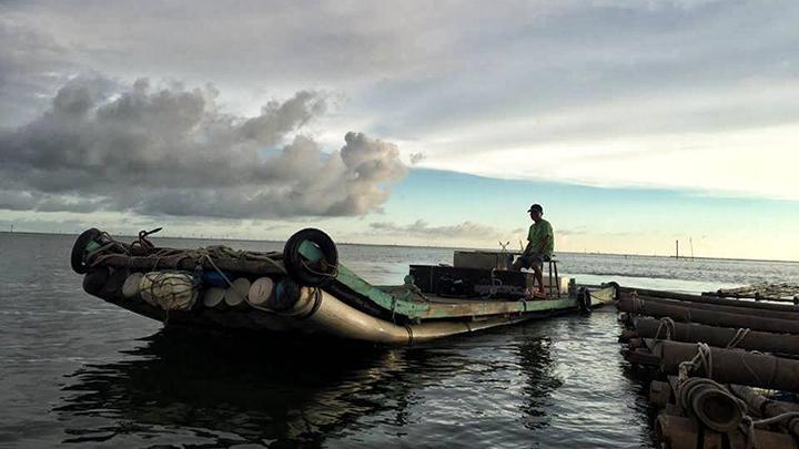 外傘頂洲 老船長漁筏觀光夢