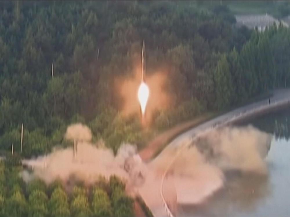 北韓瞄準關島