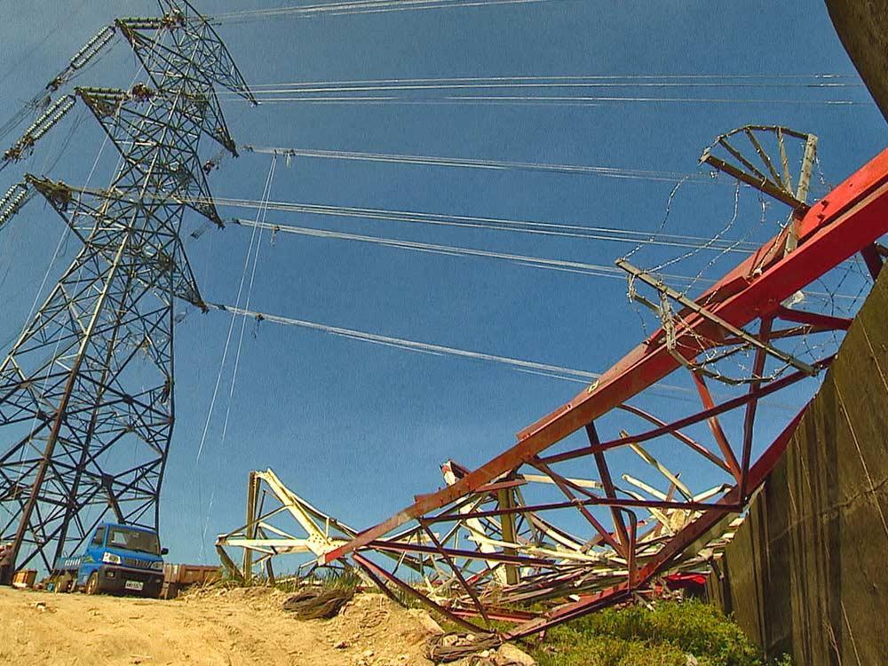 電塔倒塌 限電危機