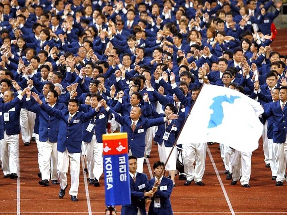 南北韓奧運分合