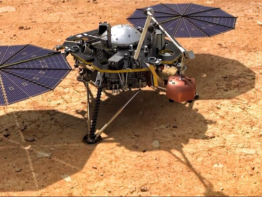 洞察火星 任務登場