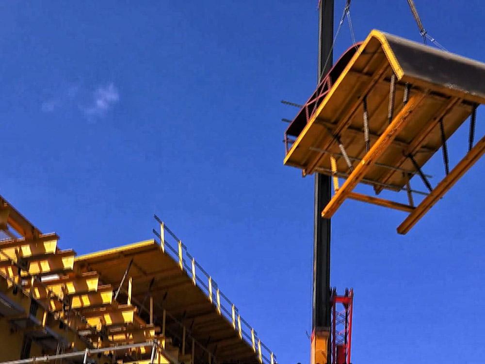 防震橋梁 積木模擬