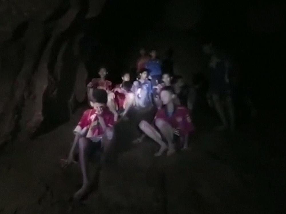 泰洞窟搜救 難度超高