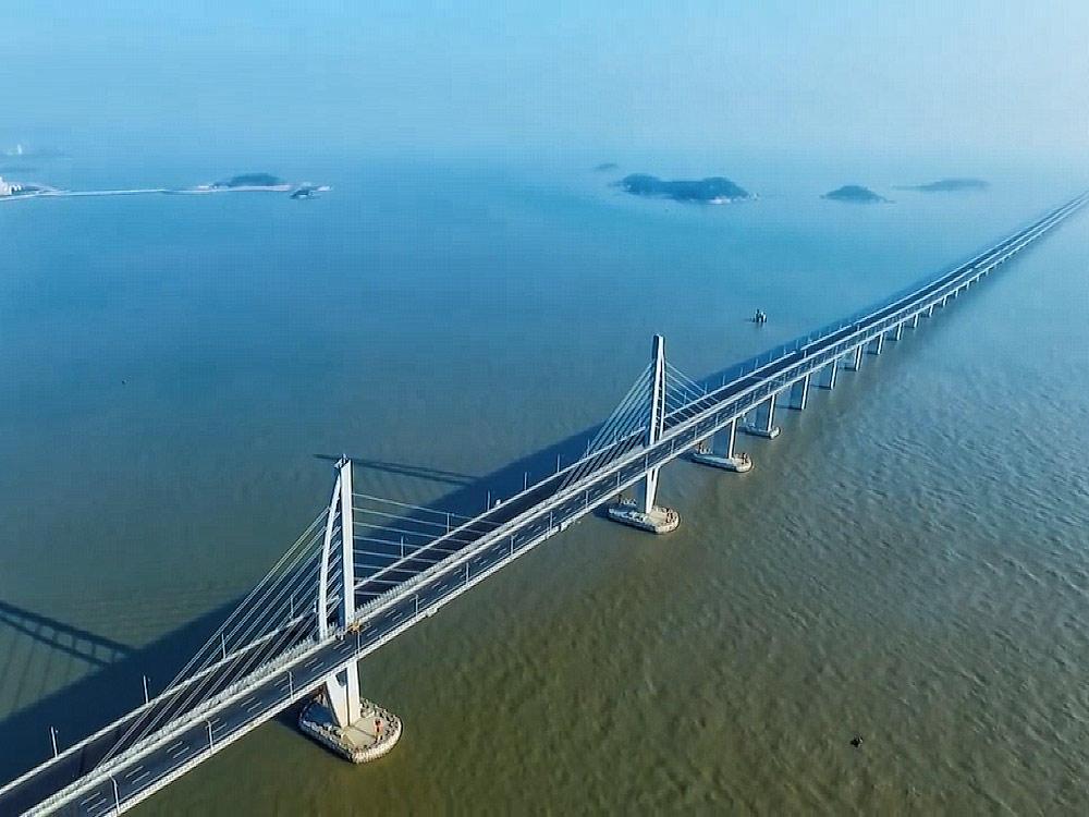 港珠澳大橋 連結香港