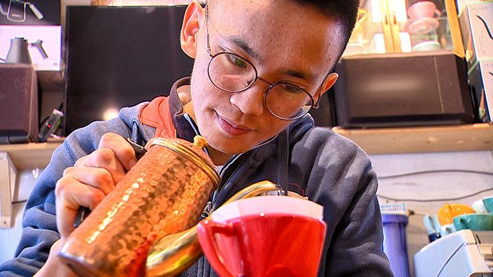 老街活化 廟口前的青年咖啡