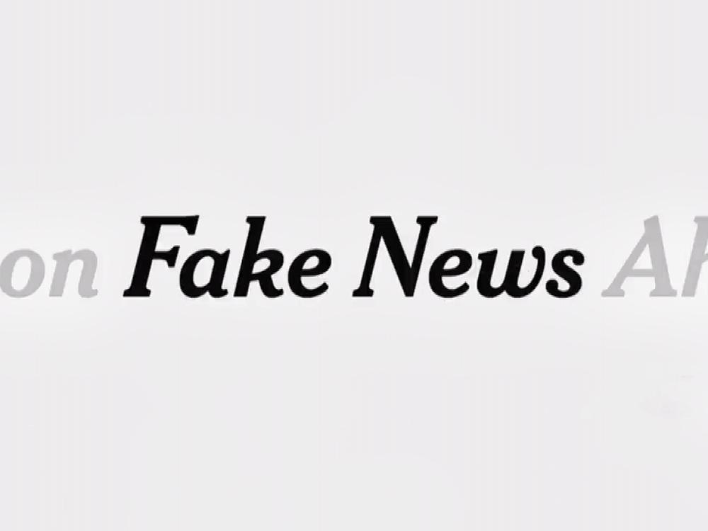 假新聞風潮 席捲世界