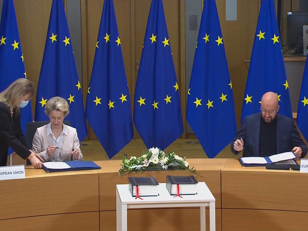英國脫歐 協議達成