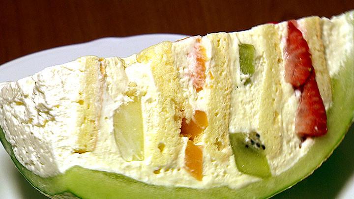 哈密瓜蛋糕 日系甜點繽紛夢幻