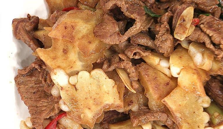 牛肉炒涼瓜
