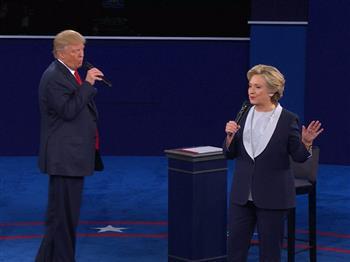 世紀大辯論第二場 川普VS希拉蕊