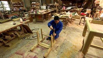 家傳木工 老技藝藏父子情