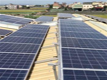 屋頂種電 再生能源