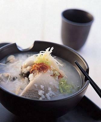 虱目魚蚵仔鹹粥