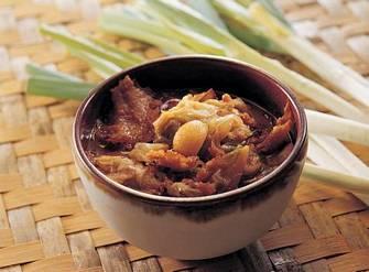 滷扁魚白菜