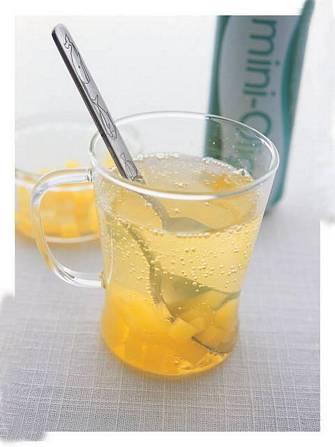 香橙蒟蒻凍飲