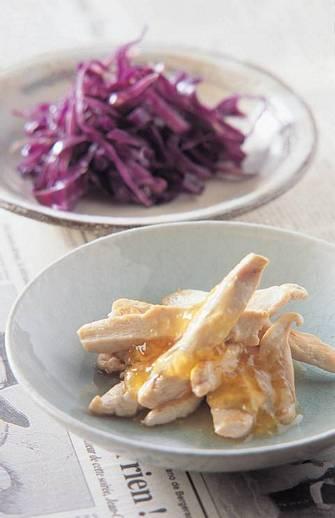 乾煎雞柳&柴魚紫高麗
