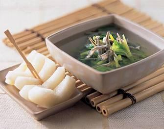 小魚乾莧菜湯
