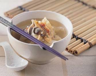 扁魚白菜湯