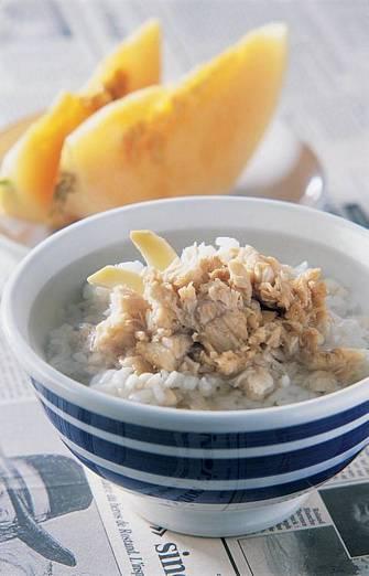 旗魚薏仁泡飯