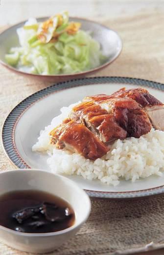 梅子烤鴨飯&大白菜滷
