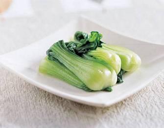素燙青江菜