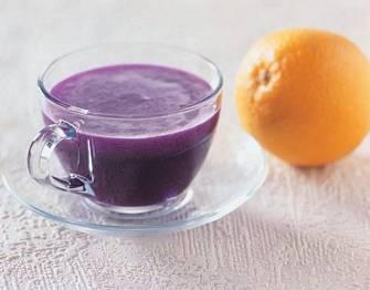 紫高麗果菜汁