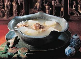 冬瓜火腿燉雞湯