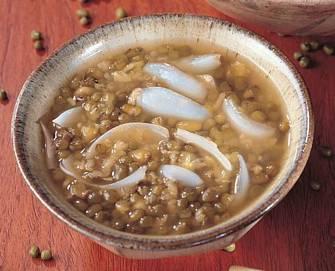 百合綠豆湯