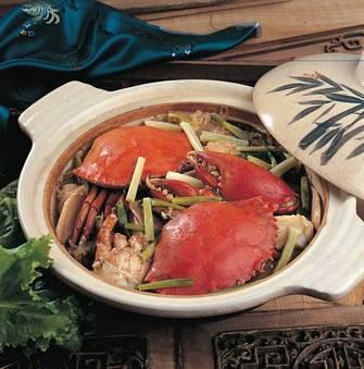 粉絲焗蟹煲