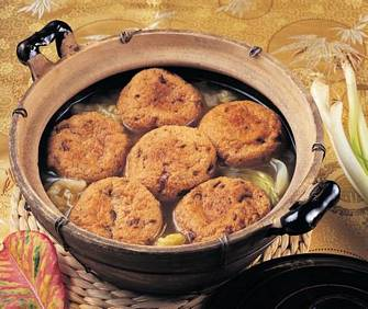 素燒豆腐丸子