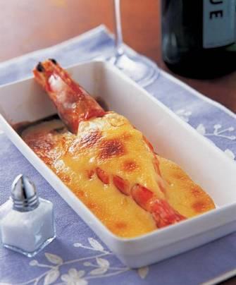 日式焗明蝦