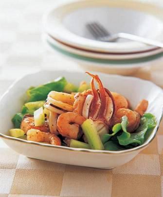 烤海鮮沙拉