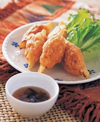 越式烤蔗蝦
