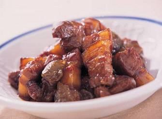 紫蘇梅燒五花肉