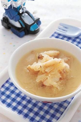 味噌蘿蔔蟹肉湯
