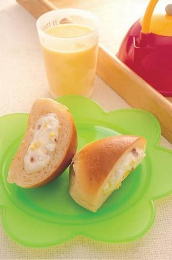 山藥三明治&芒果鮮奶