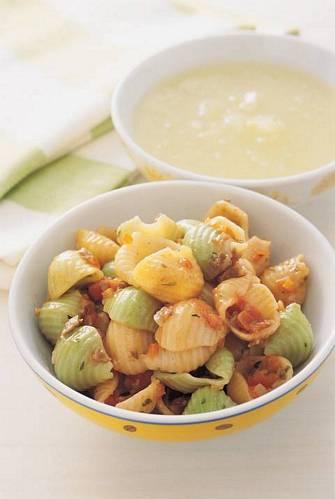 茄汁義大利麵&黃瓜冷湯