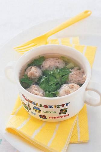 蔬菜小丸湯