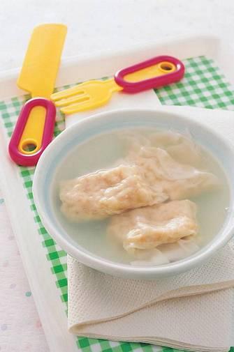 雞肉餛飩湯