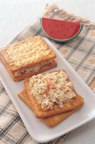 鮪魚蘇打餅