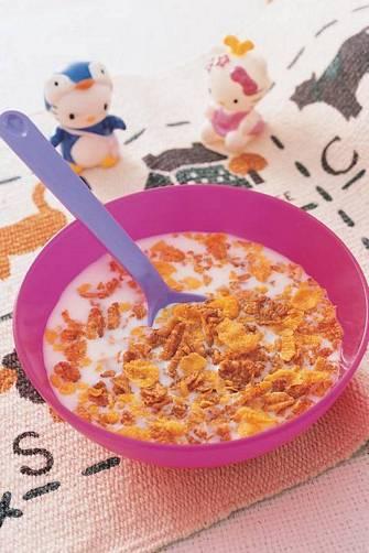 鮮奶果麥片