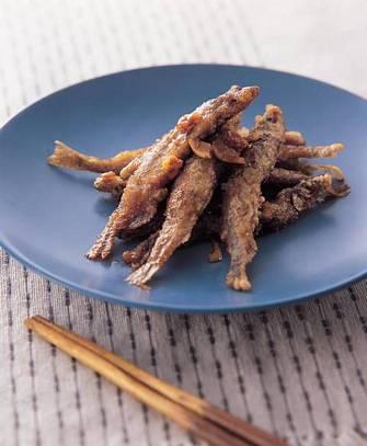 香蒜柳葉魚