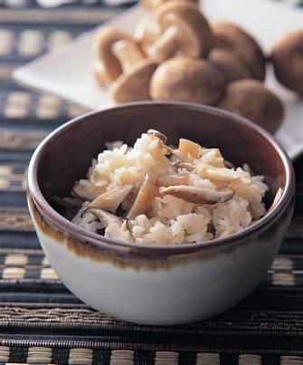 鰹魚珍菇飯
