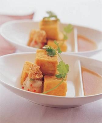 和風高湯炸豆腐