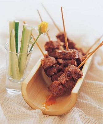 沙爹牛肉串