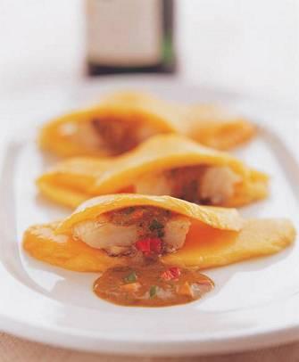 芒果咖哩龍鱈魚