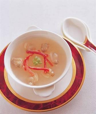 蟹肉蛤蜊冬瓜湯