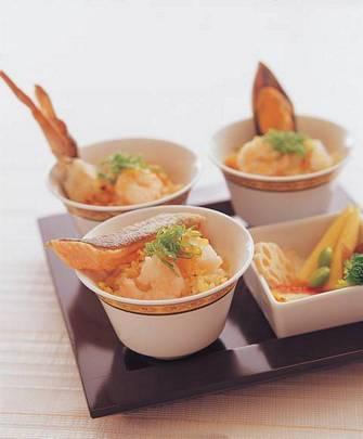 金蒜海鮮炒飯